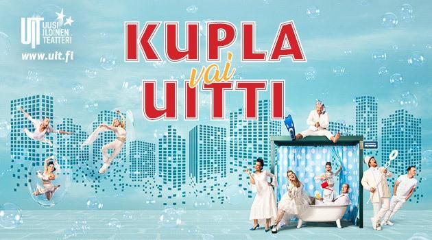 Kupla vai Uitti   UIT - Peacock   Teatterimatka.fi
